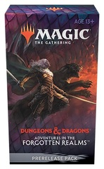 Adventures in the Forgotten Realms Take Home Prerelease Pack + 2 Prize Packs