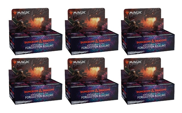 Adventures in the Forgotten Realms Draft Booster Case (6 Boxes)
