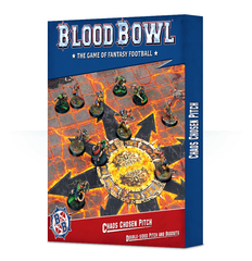 Blood Bowl - Chaos Chosen Pitch and Dugouts