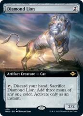 Diamond Lion (Extended Art)