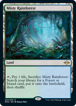 Misty Rainforest - Foil