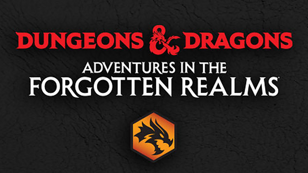 Adventures in the Forgotten Realms Theme Boosters Pack - Black