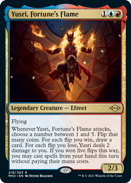 Yusri, Fortunes Flame - Foil