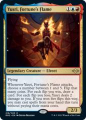 Yusri, Fortune's Flame - Foil