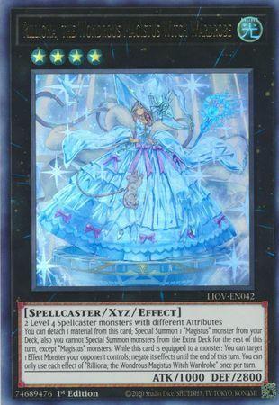 Rilliona, the Wondrous Magistus Witch Wardrobe - LIOV-EN042 - Ultra Rare - 1st Edition