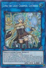 Lyna the Light Charmer, Lustrous - LIOV-EN049 - Super Rare - 1st Edition