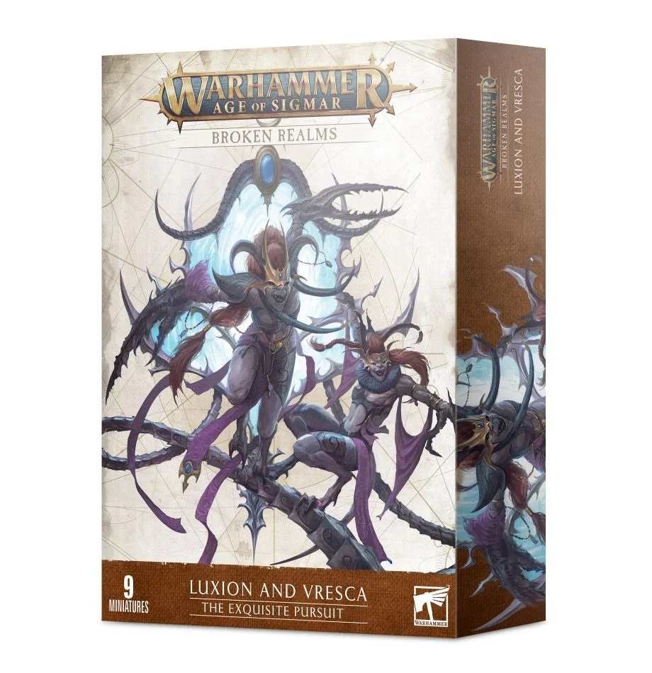 Broken Realms: Luxion and Vresca - The Exquisite Pursuit