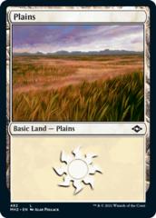Plains (482) - Foil Etched
