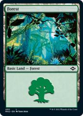 Forest (490) - Foil Etched