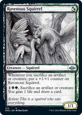 Ravenous Squirrel (Showcase)
