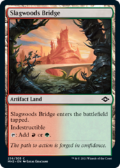 Slagwoods Bridge - Foil