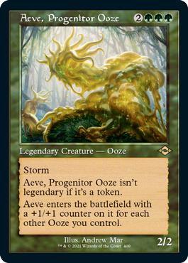 Aeve, Progenitor Ooze - Foil - Retro Frame