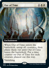 Out of Time - Foil - Extended Art