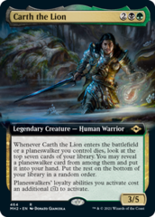 Carth the Lion - Extended Art