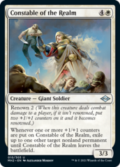 Constable of the Realm - Foil