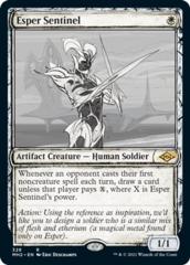 Esper Sentinel - Foil - Showcase