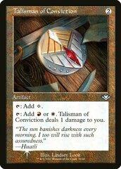 Talisman of Conviction - Foil - Retro Frame