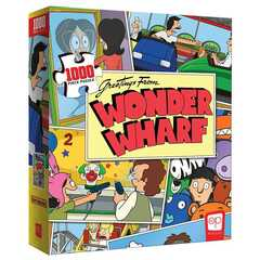 """Bob's Burgers """"Greetings from Wonder Wharf"""" 1000 Piece Puzzle"""