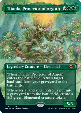 Titania, Protector of Argoth - Borderless