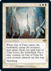 Out of Time - Foil Etched - Retro Frame
