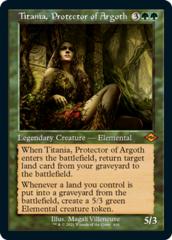 Titania, Protector of Argoth - Foil Etched - Retro Frame