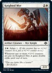 Knighted Myr - Foil