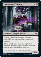 Loathsome Curator - Foil