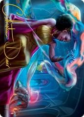 Radiant Epicure Art Card - Gold-Stamped Signature