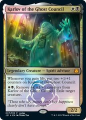 Karlov of the Ghost Council - Foil Judge Academy Promo