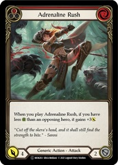 Adrenaline Rush (Red) - Rainbow Foil - Unlimited Edition