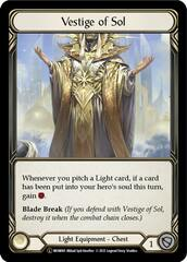 Vestige of Sol - Rainbow Foil - Unlimited Edition