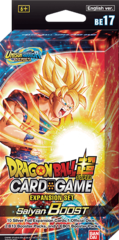 Dragon Ball Super - Expansion Set 17: Saiyan Boost