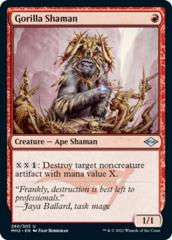 Gorilla Shaman - Foil Etched