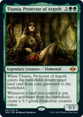 Titania, Protector of Argoth - Foil Etched