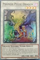 Phonon Pulse Dragon - OP16-EN008 - Super Rare - Unlimited Edition