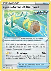 Rapid Strike Scroll of Skies - 151/198 - Uncommon