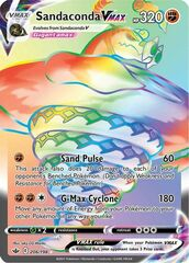 Sandaconda VMAX - 206/198 - Secret Rare