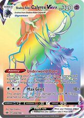 Shadow Rider Calyrex VMAX - 204/198 - Secret Rare