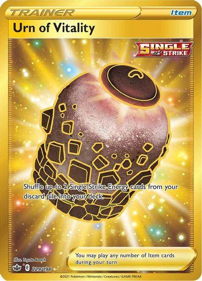 Urn of Vitality - 229/198 - Secret Rare