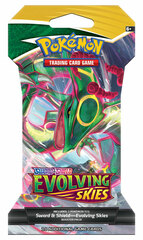 Sword & Shield - Evolving Skies Sleeved Booster - Rayquaza