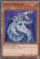 Cyber Dragon - EGO1-EN009 - Common - 1st Edition