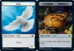 Bird Token // Food Token (017) - Foil