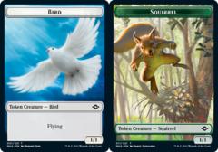 Bird Token // Squirrel Token - Foil