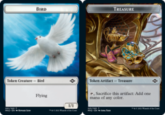 Bird Token // Treasure Token (021) - Foil