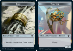 Clue Token (015) // Thopter Token - Foil