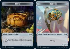 Food Token (017) // Thopter Token - Foil