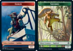Goblin Token // Squirrel Token - Foil
