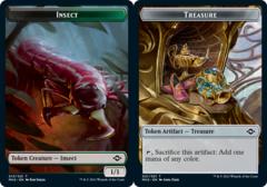 Insect Token // Treasure Token (021) - Foil