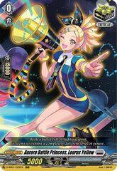 Aurora Battle Princess, Lourus Yellow - D-SS01/029EN - RRR