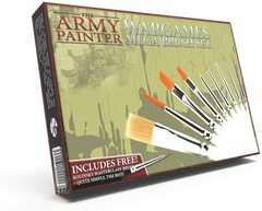 The Army Painter: Wargames Mega Brush Set